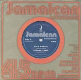 Johnny Clarke - Poor Marcus / version (Jamaican Recordings) UK 7""
